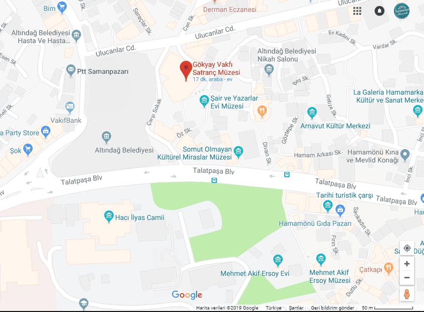 satranç müzesi nerede